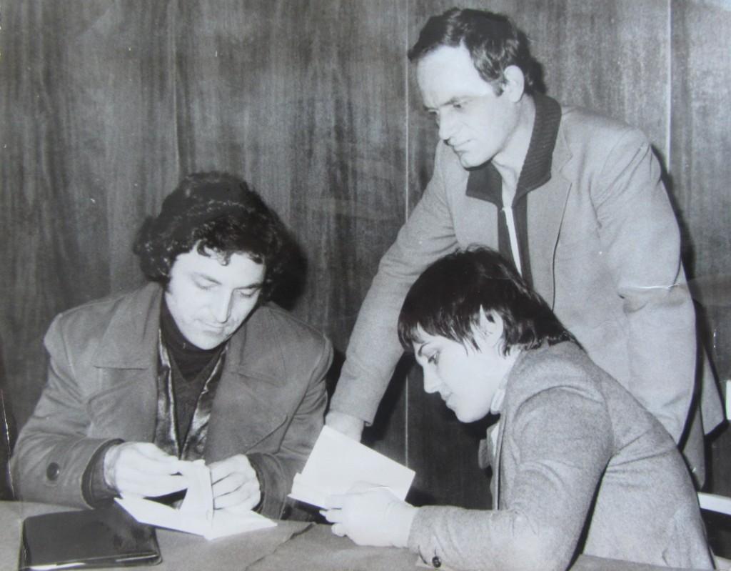 s Angel Lazov i Valia Diankova